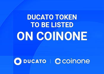 DUCATO TOKENS TO BE LISTED ON COINONE